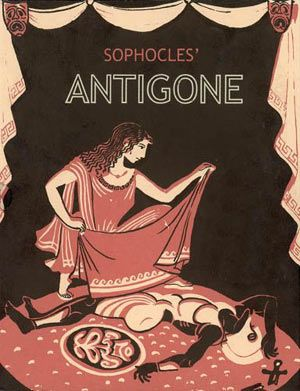 Antigone, an Ancient Thebian play about a young woman who defies the government. Getting excited (and prepared) to teach this in a project-based, interdisciplinary setting! Lots of potential here.