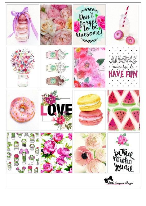 these trendy stickers are great for decoration the daily boxes for erin condren planner