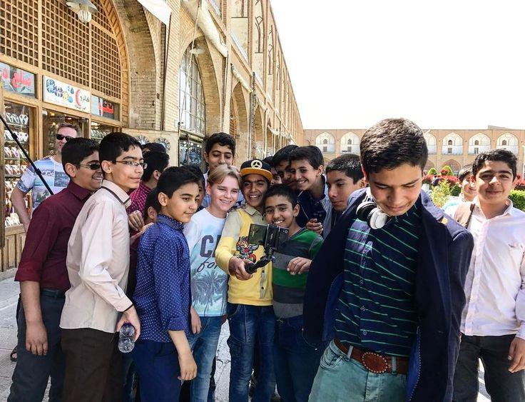 My son is famous in Iran #visitiran #iran #irantourism #naqshejahan