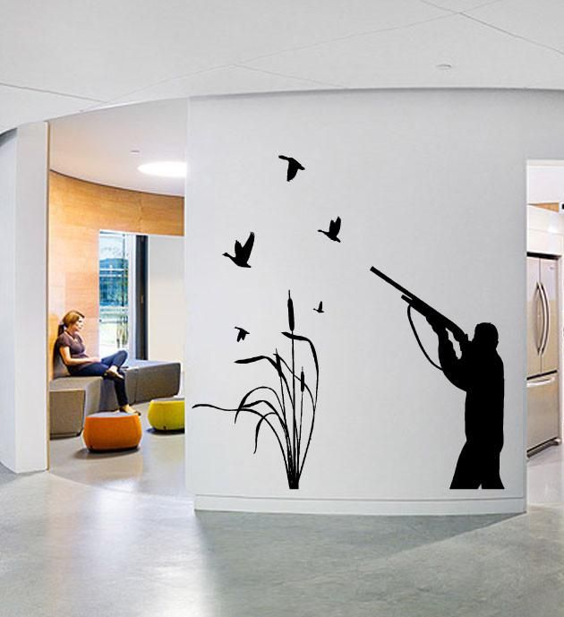 Duck Hunting Wall Decal