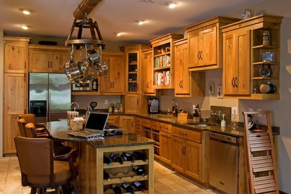 rustic kitchen design photos