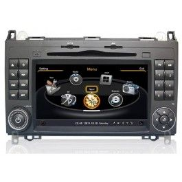 Mercedes A-Klasse W169 Doppel Din Autoradio GPS Navigationssysteme mit Touchscreen 3D GPS Navigation DVD Navi Multimedia Player Bluetooth Freisprecheinrichtung - 2 Din GPS Navigation Autoradio Car DVD Player Speziell für Mercedes W169 (2004-2012) Sonderpreis: 480,00 €