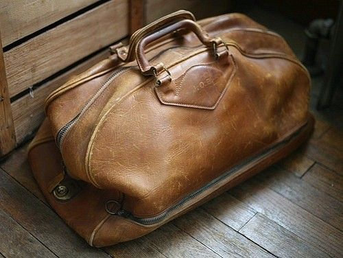 worn leather