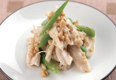 ピエトロドレッシングで作る!ハーブ蒸し鶏といんげんサラダ | nanapi [ナナピ]