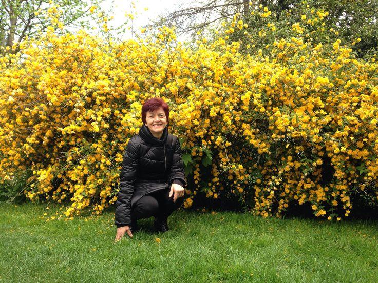 Mamma tra i fiori a Ginevra