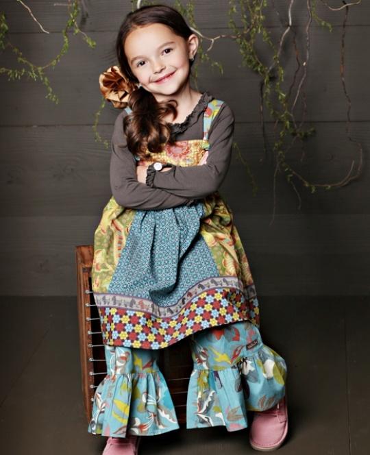 Matilda Jane knot dresses... Scarlett wears them ALLLL the time
