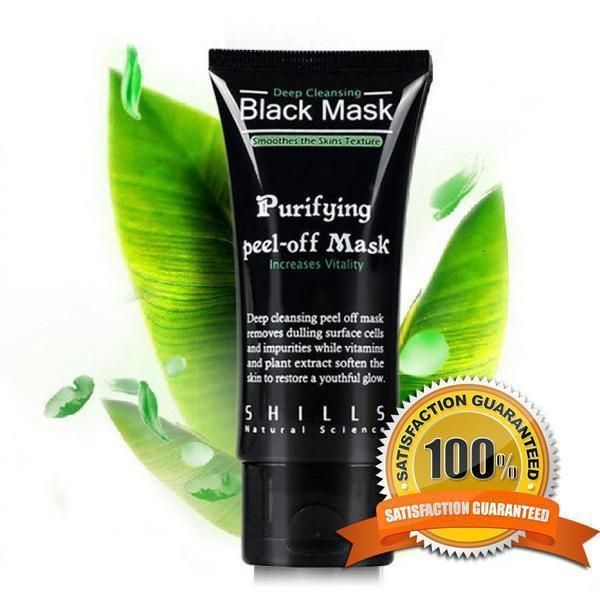 50ml PILATEN blackhead remover,Deep Cleansing purifying peel acne black mud face mask
