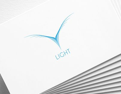 """Light"" logo design by graphic designer Sanem Tanman."