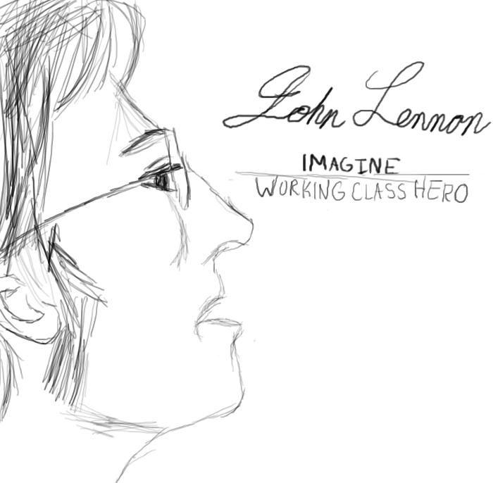john_lennon_imagine_working_class_hero_by_animangagirl-d4ji2h3.jpg 700×686 pixels