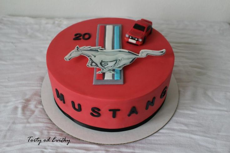 Ford mustang  - Cake by Cakes by Evička