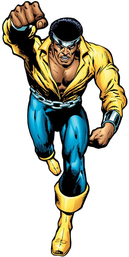 Luke Cage - Hero for Hire - Marvel Comics - 1970s profile. Yeah, technically this specific shot is out of the time frame for the article at http://www.writeups.org/fiche.php?id=4738 but let's jive this like it's Christmas baby.