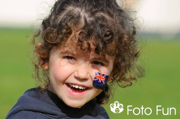 Girl with NZ flag tatooed in her face