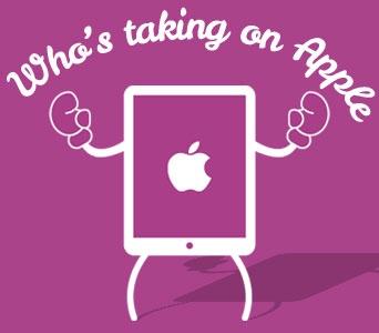 Who's taking on Apple, put dem' dukes up!
