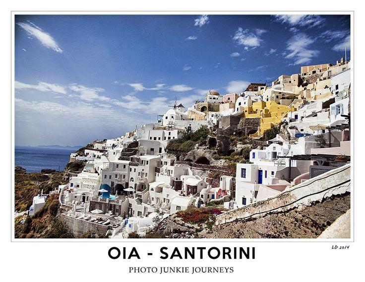 Photo Junkie Journeys Oia - Santorini