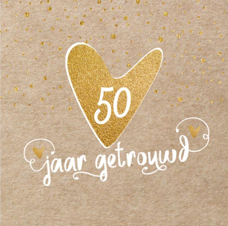 Zeer 50 Jarig Huwelijk Ideeen #UZV61 - AgnesWaMu &HT68