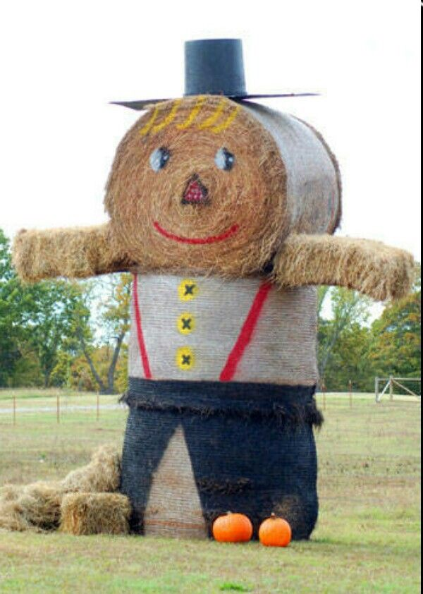 33 best hay bale art images on pinterest hay bales for Bales of hay for decoration