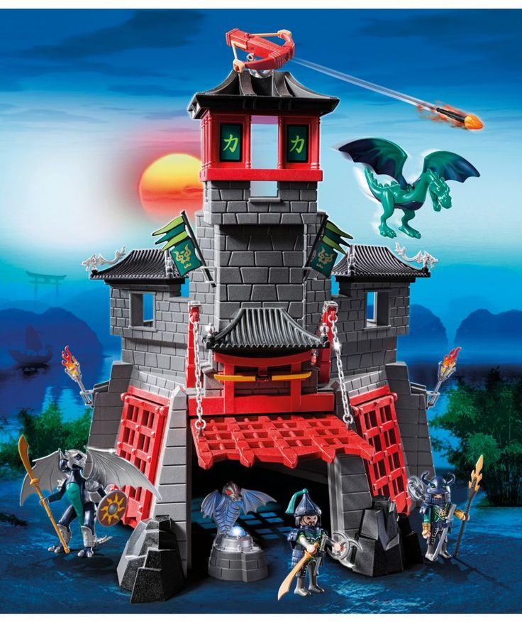 Buy Playmobil 5480 Secret Dragon Fort at Argos.co.uk - Your Online Shop for Action figures and playsets.