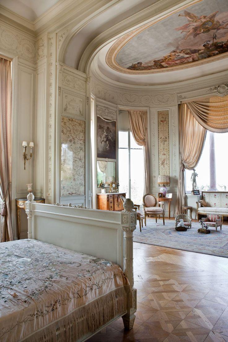 Chambre de la baronne interior views villa jardins for Villa jardins ephrussi de rothschild