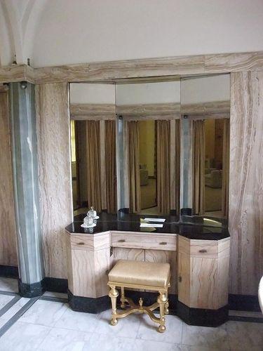 Eltham Palace bathroom 1936:...
