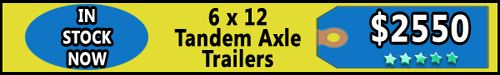 Trailers for Sale in South Carolina - 6 X 12 Tandem Axle Enclosed Trailers  - http://www.trailersnow.net/trailers-for-sale-in-south-carolina-6-x-12-tandem-axle-enclosed-trailers.html