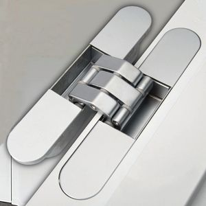 Make your door hinges disappear with the all new Rocyork concealed door hinge | Architecture And Design