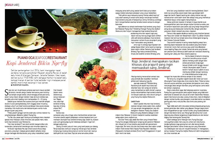 Majalah Jakarta Review, halaman 66-67