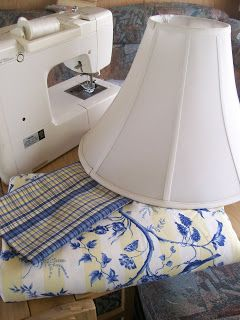 My Sew Sweet Studio: So Easy No Sew (almost) Lampshade Redo Tutorial and a Giveaway