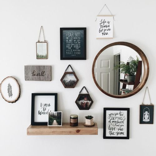 minimalist wall decor // home decoration tumblr hipsters aesthetics indie