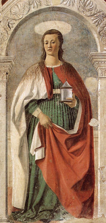 Piero della Francesca,   St. Mary Magdalene, 1460