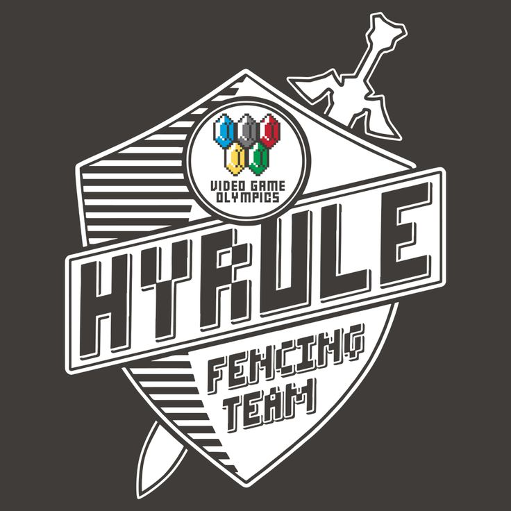 hyrule fencing team t shirt - Team T Shirt Design Ideas