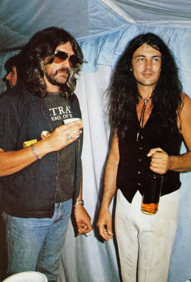 Jon Lord & Ian Gillan (Deep Purple)