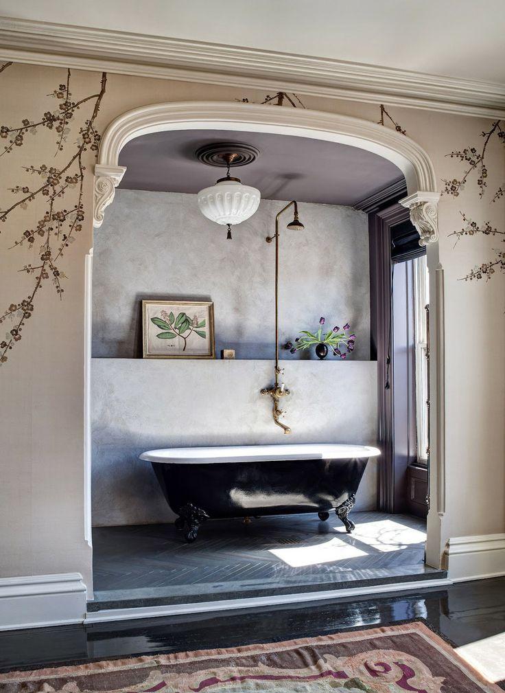 VINTAGE & CHIC: decoración vintage para tu casa · vintage home decor: Porque hay baños y baños · More than simple bathrooms