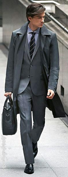 Hugo Boss #Suits I would kill for this suit.