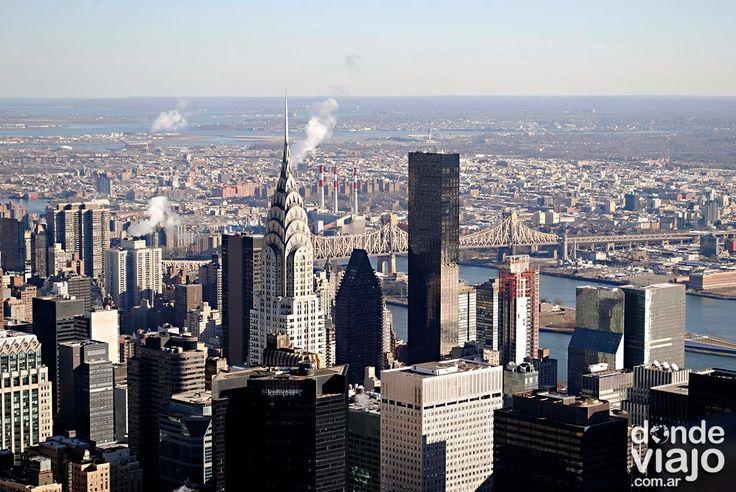 Vista de #NuevaYork desde el Empire State - Navidad en Nueva York - foto de dondeviajo.com.ar // #travel #turismo #viajes #USA #EstadosUnidos #viajar #lugares