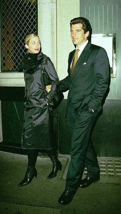 John and Carolyn, London, 1999