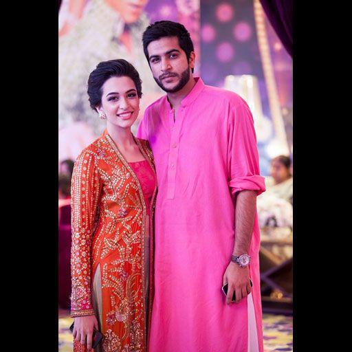 Sana Ansari in glamorous Farah Talib Aziz