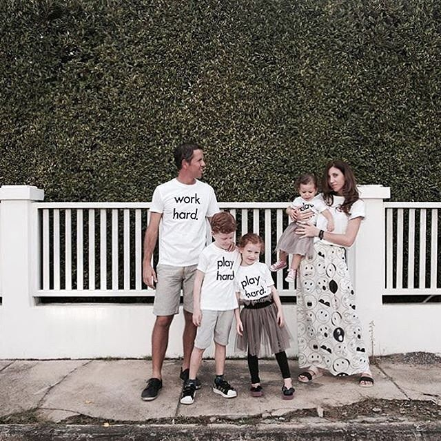 30% off Nor-Folk Tees www.jellydoor.com.au @nico_smallittle Nico from @smallittleblog and her family all looking fab in their @nor_folk tees. Available at www.jellydoor.com.au  #nor_folk #carolinebosmans #fashion #hipkidfashion #coolkids #kidsfashion #ministyle #kids #blogger #jellydoor