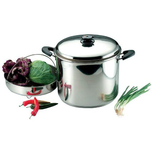 See item: http://knivesdeals.review/go-power-gear-asian-knife-holiday-promo-precise-heat-30-quart-waterless-stockpot-with-steamer-basket/ <<- Go Power Gear Asian Knife holiday promo  Precise Heat 30-Quart Waterless Stockpot with Steamer Basket