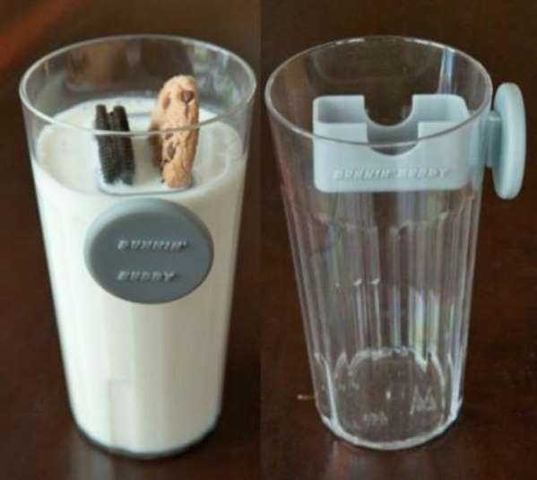 A magnetic cookie dunker is nothing short of genius. (Oddity Mall, $9.95) - Whitney Coy