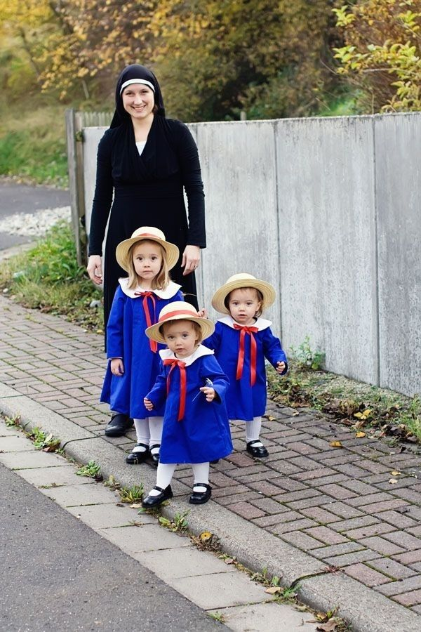 Miss Clavel and Madeline(s), Madeline | 17 Awesome Literary Halloween Costumes