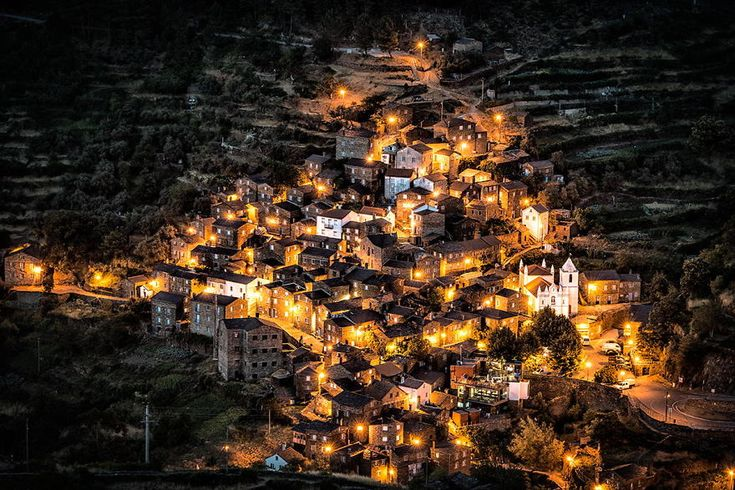 Piodao, Historical Village Of Portugal   Perched high up in the mountains this small village, made predominately of stone, has around 250 residents. The journey here is long, steep, and a bit scary, but oh so worth it.