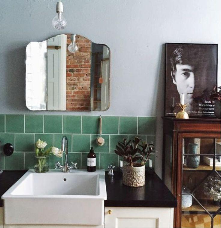 Groene Keuken Tegels : Meer dan 1000 idee?n over Groene Tegels op Pinterest – Tegel