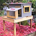 Outdoor Pet Houses - Basic Cat House Photo Gallery
