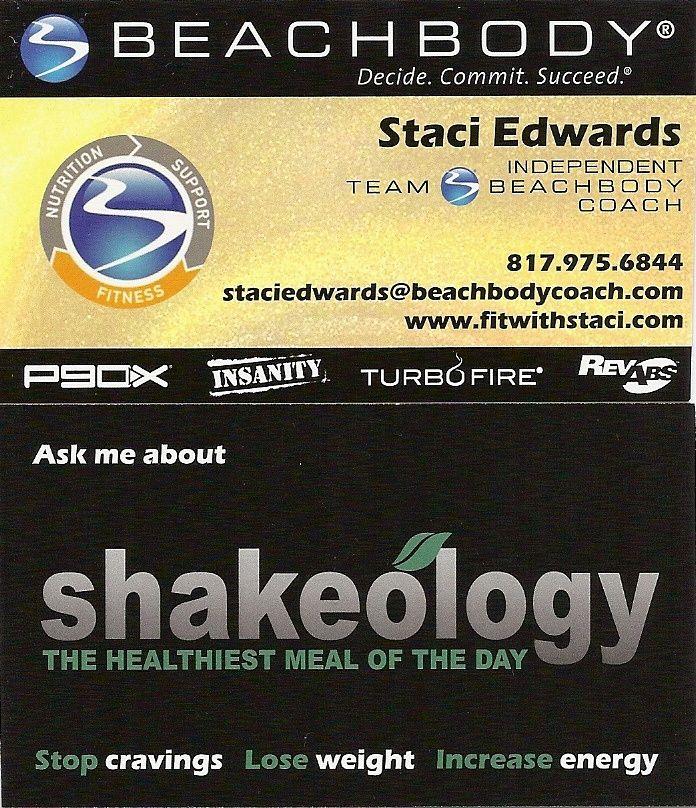 11 best logos images on pinterest beachbody shakeology health my business cards colourmoves
