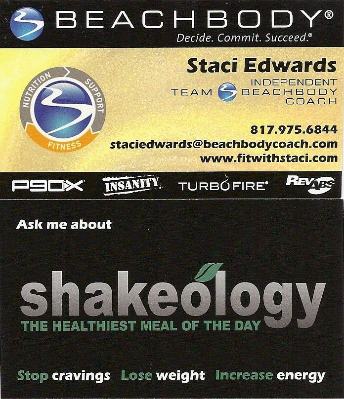 beachbody business cards pinterest Google Search