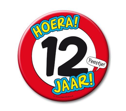 12 Jaar Verjaardag