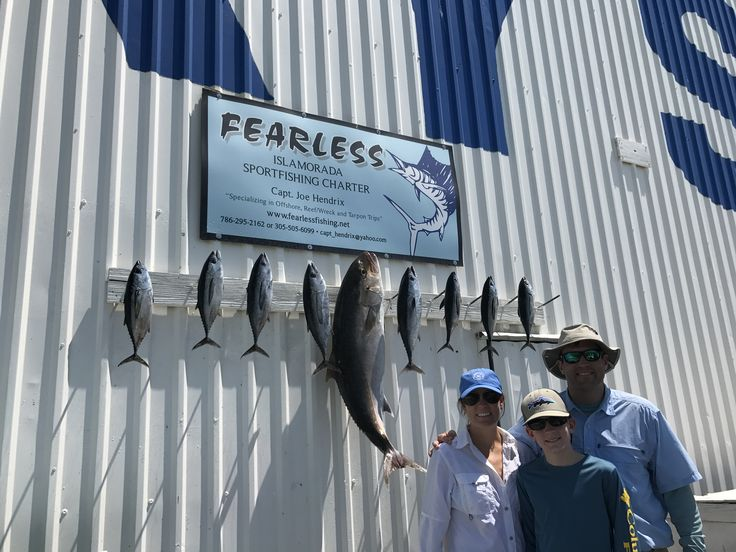 Fearless Fishing Report for March 23 (#Islamorada, FL): Today we fished a 3/4 day and we head #Offshore to the #Hump for some #Tuna action. They were biting great. We then took one and sent it down towards the bottom and hooked and caught an #Amberjack. Wind was Northeast at 8 knots and seas 1 to 2 feet #fearless #fishing #charter #conch27 #captjoehendrix