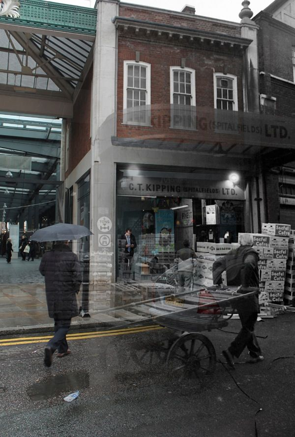 A Walk Through Time in Spitalfields Market