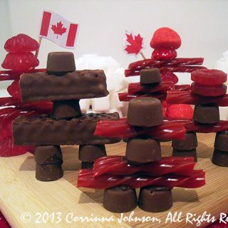 Inukshuk Treats For Canada Day -game idea?