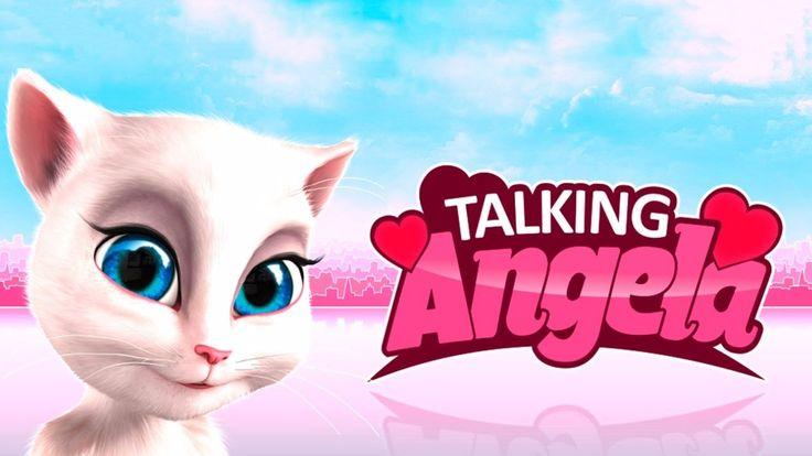 Моя Говорящая Анджела 🎀 Говорящий Том и друзья Мультик игра для детей пр...